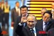 상하이에 도착한 푸틴 러시아 대통령