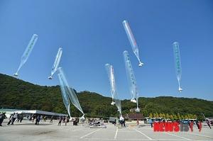 민간단체 대북전단 살포