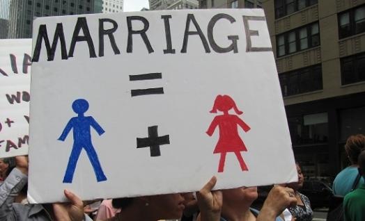 동성결혼 반대