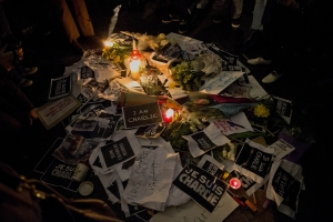 파리 테러 규탄 런던