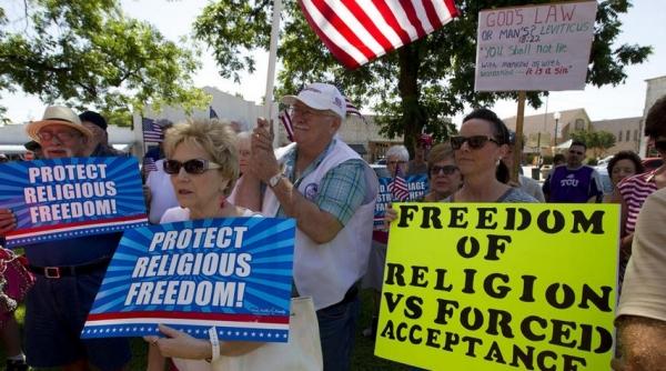 미국 종교의 자유