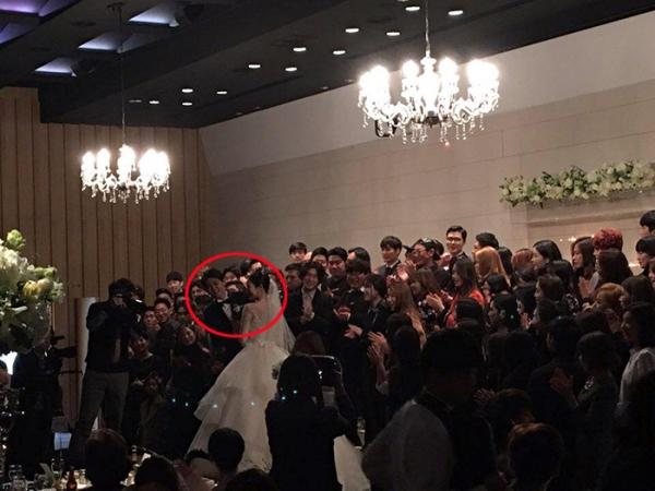 배우 동호 결혼식 모습