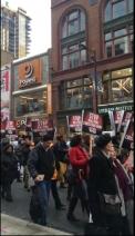 토론토 시위