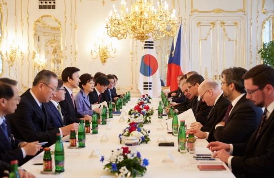 한국 체코 정상회담