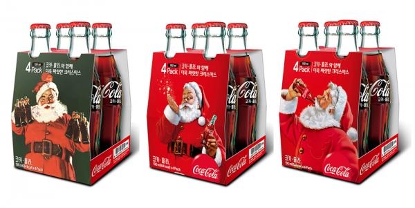 코카-콜라 크리스마스 산타 패키지