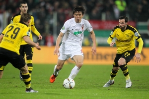 독일 프로축구팀  아우크스부르크에서 활약 중인 구자철 선수
