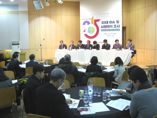 행사에는 한국교회 유관기관 단체 관계자들뿐 아니라, 많은 언론들의 기자들이 몰려 취재했다.