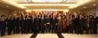 한국기독교총연합회 신년예배에 참석한 이들이 모임을 마치고 기념촬영에 임하고 있다.