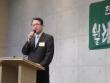강남교회 전병금 목사가 한복협 1월 월례회에서 발표하고 있다.