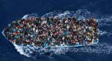유럽으로 향하는 난민선