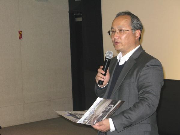 제1회 한국기독교단편영화제를 주최한 파이오니아21의 대표 김상철 목사. 그는 여러 편의 기독교 영화를 제작한 영화감독이기도 하다.