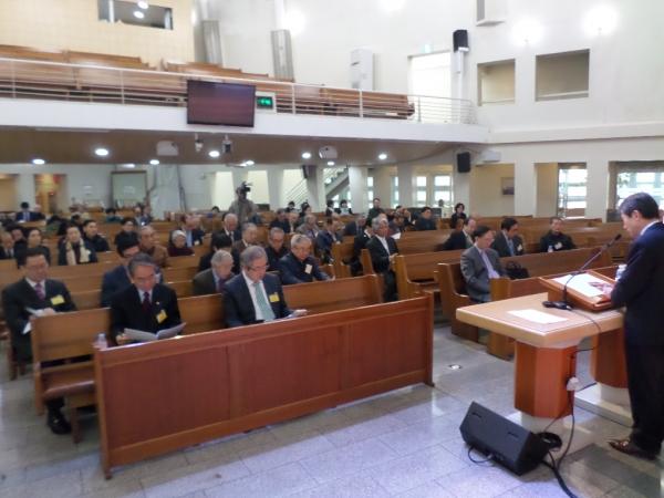 한복협 4월 월례회가 8일 오전 강변교회에서 열렸다.