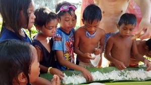 필리핀 밥퍼일기 무료급식