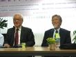 25일 강좌에서는 강근환 박사(서울신대 전 총장, 오른쪽)가 강연했다. 왼쪽은 사회를 맡은 서광선 박사.
