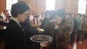 봉수교회부활절성찬식에 참여한 성도들 3월27일2016