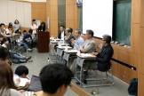 (사진2)지난 2일 한동대 오석관 305호에서 '알파고가 한동인들에게 보여주는 미래는' 이라는 주제로 토론회가 열렸다