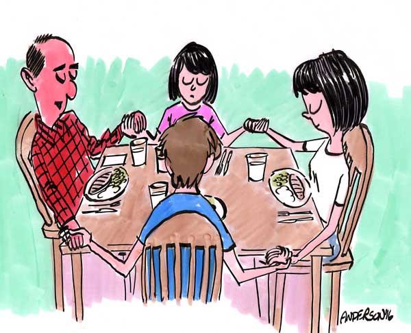 기도 식기도 가족
