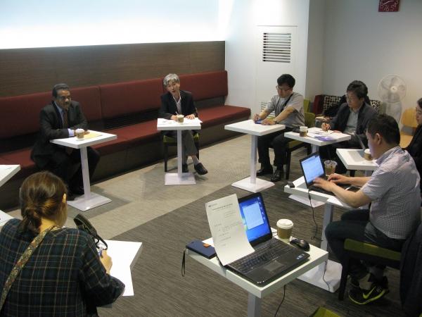 지난 24일 아시아기독교협의회 총무 방한 기념 기자회견이 대한성공회 서울주교좌성당에서 열렸다.