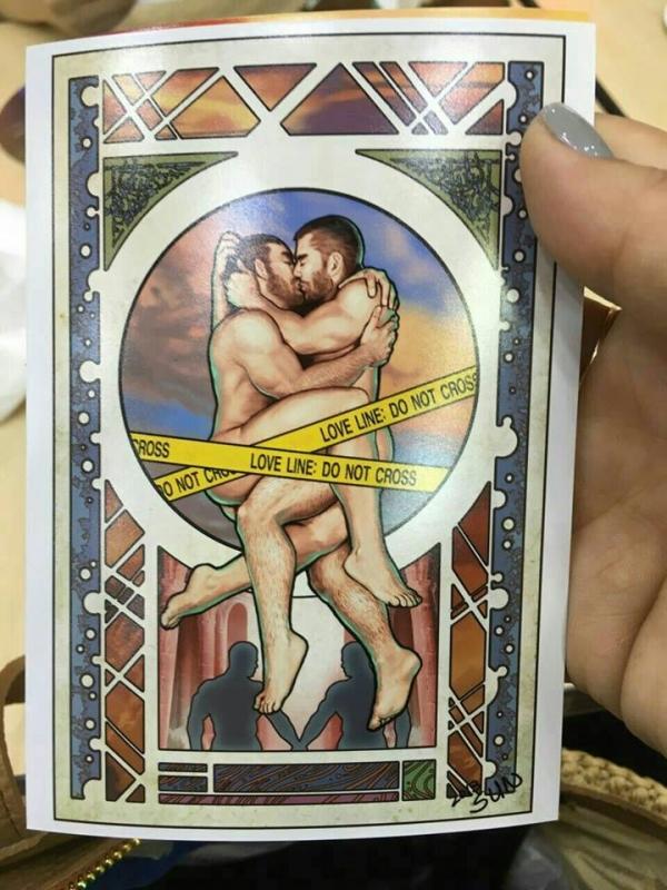 동성애 타로카드
