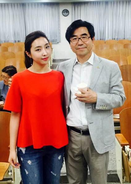 주도홍 교수와 공민지