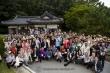 한국의 전통문화를 체험하고 있는 아시아 각국의 신학교 관계자들.