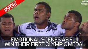 피지 럭피팀 올림픽 첫 금메달