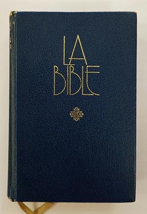 불어 성경 표지
