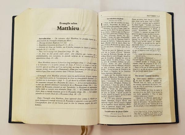 불어 성경 - 마태복음