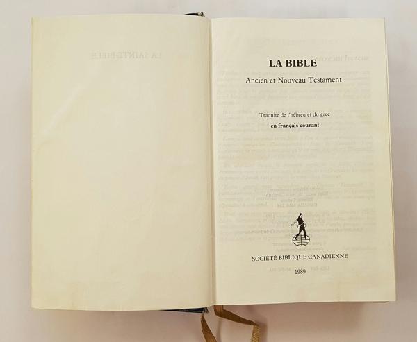 불어 성경 - 구약과 신약