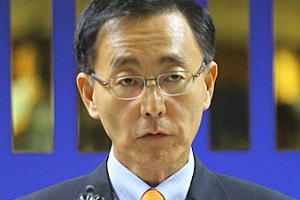 김수남(타 신문사 사진)