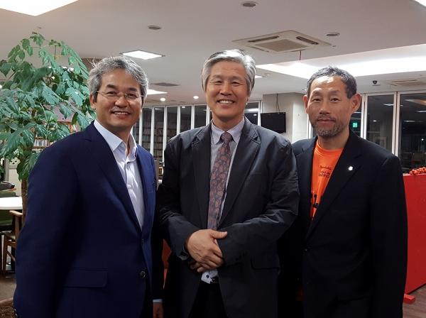 이동환 박사와 민찬기 목사