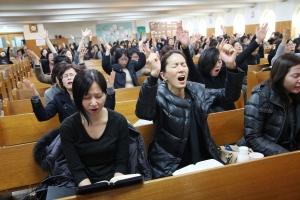 광림교회 수능 수험생을 위한 기도회