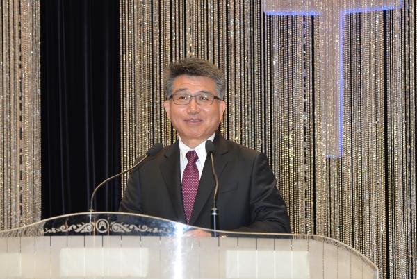 기장총회의 신임 총무 이재천 목사.
