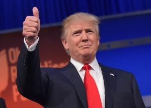 미국 대통령 선거 당선자 도날드 트럼프.