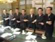 한국교회연합 추진을 위한 모임에 현직 교단장들이 모여 의견을 나눈 후 기념촬영에 임하고 있다.