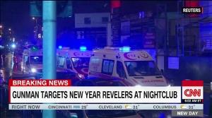 새해 첫날 터키 테러