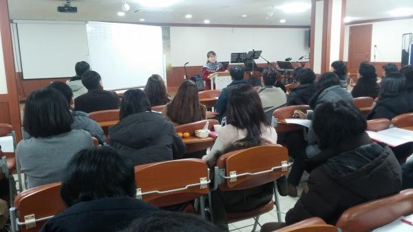 2017년 달라지는 제도를 설명하고 있는 변혜신 법제분과 위원장