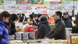 한국 물가 마트 식료품값 집값 / KBS