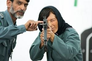 아프가니스탄 여성 경찰