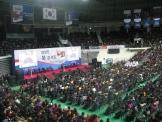 북 콘서트에 운집한 인파의 모습.
