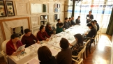 """17일 낮 열린 """"성소수자 전도 북카페 교회 설립 준비 간담회""""에 참석한 참석자들의 모습."""