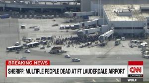 미국 플로리다 주 포트로더데일 국제공항에 발생한 총격 사건