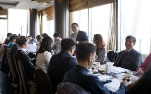 ▲ CTS 신년기자간담회에 참석한 김관상 사장이 인사말을 하고 있다