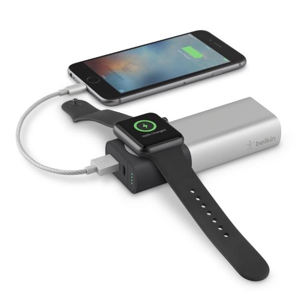 벨킨 애플워치+아이폰용 Valet Charger™ 파워팩