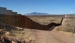 미국 멕시코 국경 장벽 / 자료사진