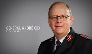 국제구세군 사령관 안드레 콕스 대장