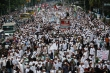 성난 인도네시아 무슬림들
