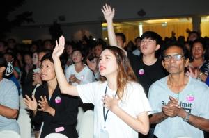 '태국 축복과 기적의 대성회'에 참석한 성도들.