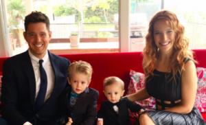 마이클 부블레와 그의 가족