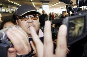 피살된 김정남 / AFP